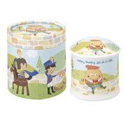 Little Rhymes Humpty Dumpty Penny Moneybox Gift Box - Multi