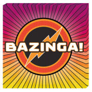 The Big Bang Theory Bazinga - 40 x 40cm Value Canvas