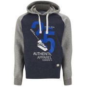 Smith & Jones Men's Novar Hoody - Navy/Grey Marl