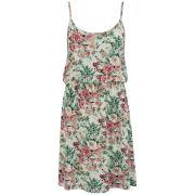 VILA Women's Floral Poet Dress - Pristine
