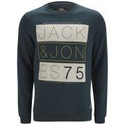 Jack & Jones Men's NOOS Core Kendall Crew Neck Sweatshirt - Midnight Navy