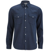 Jack and Jones Men's Lander Shirt - Dress Blue