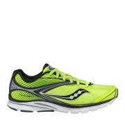 Saucony Men's Kinvara 4 Running Shoe - Citron/Black/Green