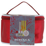 Mavala Red Satin Vanity Case