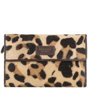 OSPREY LONDON Medium Regal Safari Print Purse - Jaguar