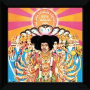 "Jimi Hendrix Axis Bold as Love - 12"""" x 12"""" Framed Album Prints"