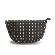 Maison Scotch Studded Cross Body Bag - Black