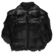 Unreal Fur Women's Nord Cape - Black