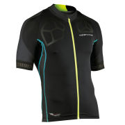 Northwave Men's Galaxy Short Sleeve Jersey - Black/Blue/Yellow