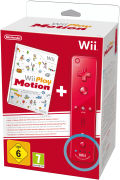 Wii Play: Motion + Wii Remote Plus Red