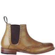 Grenson Women's Jessue Brogue Chelsea Boots - Tan - 7 UK 7Tan