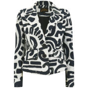 Vivienne Westwood Anglomania Women's Card Jacket - Black Maze