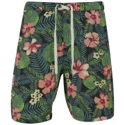 Jack & Jones Originals Men's Floral Swim Shorts - Black