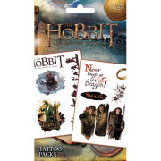 The Hobbit Desolation of Smaug Dragon - Tattoo Pack