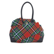 Vivienne Westwood Women's Winter Tartan Tote Bag - Classic/Blue