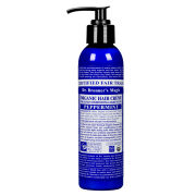 Dr. Bronner Organic Leave-In Hair Conditioner and Style Creme Peppermint (178ml)