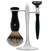 eShave T-Stand Shave Set Black