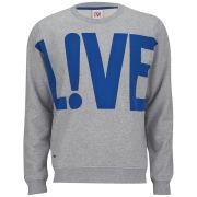 Lacoste L!ve Men's Sweatshirt - Mariner