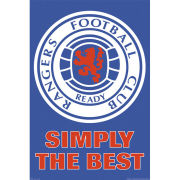 Rangers Club Crest - Maxi Poster - 61 x 91.5cm