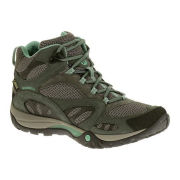 Merrell Women's Azura Mid Gore Tex Hiking Boots - Brown/Pale Green