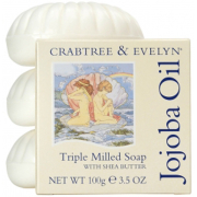 Crabtree & Evelyn Jojoba Oil Triple-Milled Soap Set (3X100G)