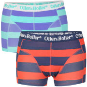 Oiler & Boiler Men's 2-Pack Boxer Shorts - Duo Stripe