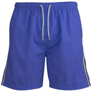 55 Soul Men's Swim Short - Blue/White/Navy