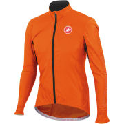 Castelli Velo Windbreaker Jacket - Orange