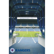 Rangers Ibrox Tunnel - Maxi Poster - 61 x 91.5cm