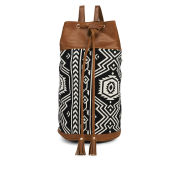 Street Level Aztec Print Duffle Bag - Multi