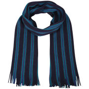 Ted Baker Murphys Vertical Multi Stripe Scarf - Blue