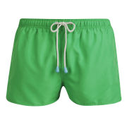 Oiler & Boiler Men's Shortie Swim Shorts - Island Green