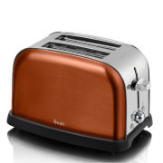 Swan ST16020COPN Metallic 2 Slice Toaster - Copper