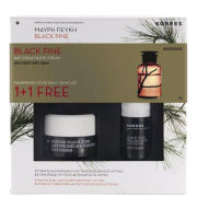 Korres Black Pine 1+1 Set - Eye Cream (15ml) and Day Cream for Dry Skin (40ml)