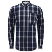 Jack & Jones Mens Garon Shirt - Dress Blue