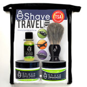eShave Verbena Lime Travel Kit