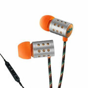 The House of Marley Midnight Ravers Earphones inc Mic - Sun