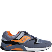 Saucony Men's Grid 9000 Trainers - Fog Blue/Orange/Black