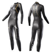 2XU Women's X-3 Project X Wetsuit - Black/Gold