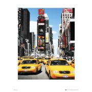 New York Yellow Taxis - 40 x 50cm Print