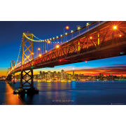 San Francisco Bay Bridge - Maxi Poster - 61 x 91.5cm