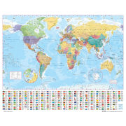 World Map 2012 - Mini Poster - 40 x 50cm