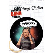 The Big Bang Theory Explode - Vinyl Sticker - 10 x 15cm