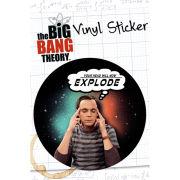The Big Bang Theory Explode - Vinyl Sticker - 10 x 15cm
