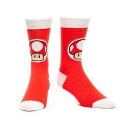 Red Mushroom - Crew Socks