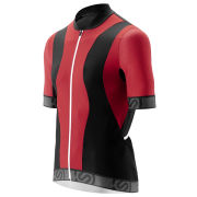 Skins Cycle Short Sleeve Jersey - Tremola - Red/Black/White