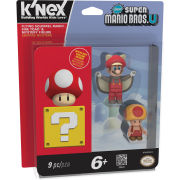 K'NEX Mario Kart: Flying Squirrel Mario, Fire Toad and Mystery (38833)
