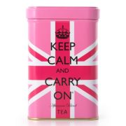 Keep Calm Tea Tin - Pink Union Jack