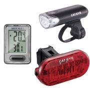 Cateye Combo Go Kit  EL135/TL135/VELO7
