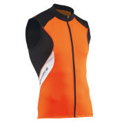 Northwave Sonic Sleeveless Jersey - Fluo Orange